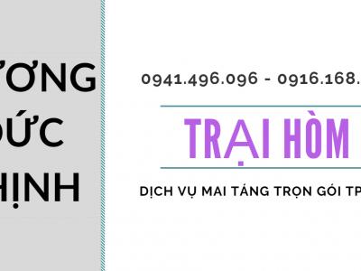 Dịch Vụ Mai Táng Trọn Gói Thành Phố Hồ Chí Minh