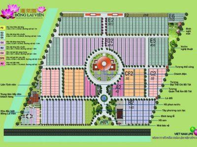 Giá Đất Hoa Viên Nghĩa Trang Bồng Lai Viên-2021