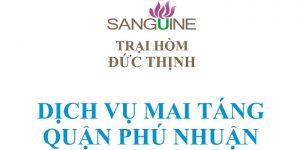 Dịch Vụ Mai Táng Trọn Gói Quận Phú Nhuận