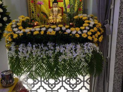Hình Ảnh Trang Trí Bàn Phật Trong Đám Tang