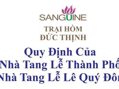 Nhà Tang Lễ Thành Phố – 25 Lê Quý Đôn