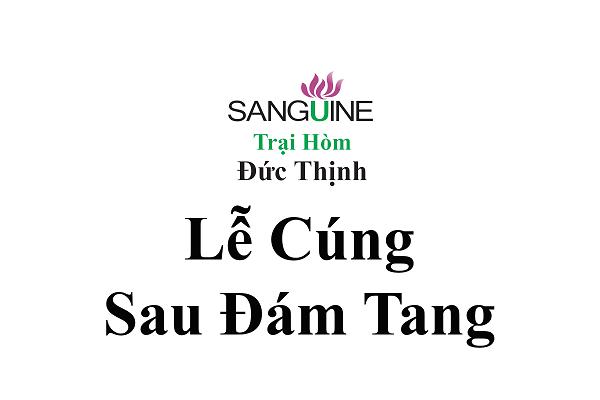 Những Lễ Cúng Sau Đám Tang